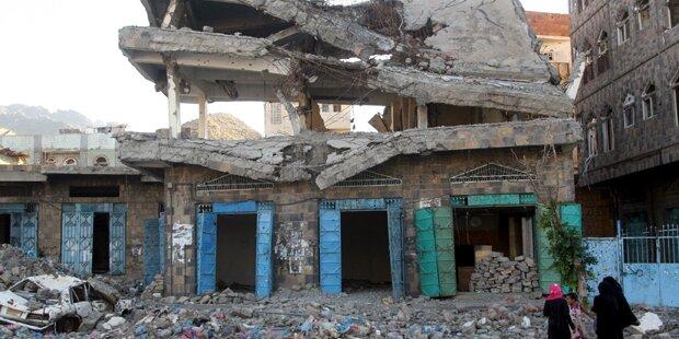 Luftangriff: 41 tote Zivilisten im Jemen