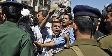 Jemen Sanaa Demo