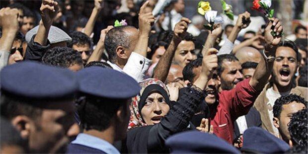 Proteste gegen Regierung im Jemen