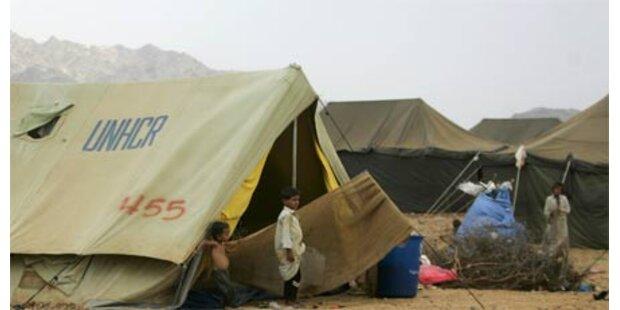 87 Tote bei Angriff auf Flüchtlingslager