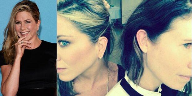 Jennifer Aniston lässt ihr Ohr piercen