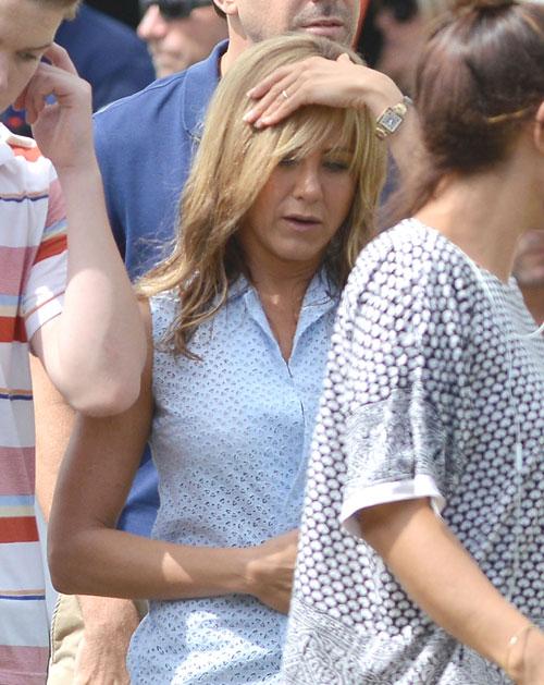 Jennifer Aniston: Verlobungsring?