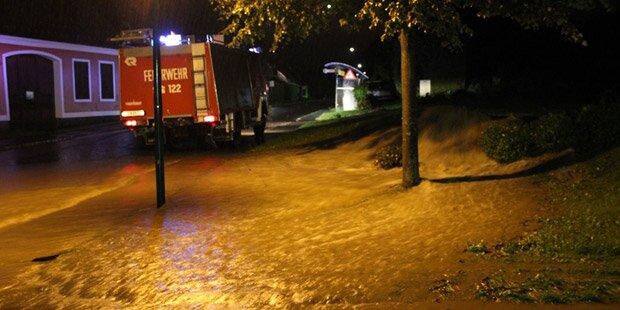Burgenland: Aufräumen nach Starkregen
