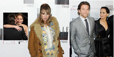 Jennifer Lawrence, Bradley Cooper, Suki Waterhouse