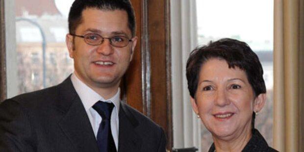 Serbiens Außenminister wirbt für EU-Beitritt