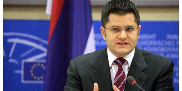 Serbischer Außenminister sorgt für Eklat