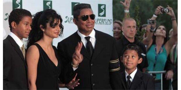 Jermaine Jackson drei Wochen in Wien