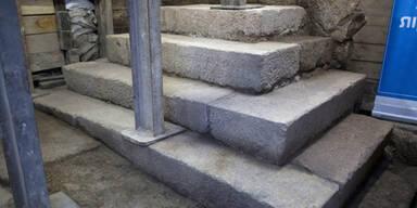 2000 Jahre alte Steintreppe gefunden