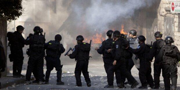 Palästinenser (16) von Israelis getötet