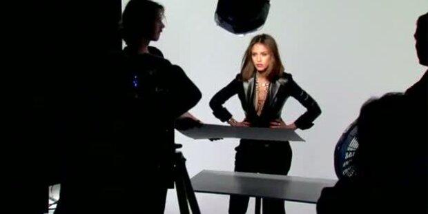 Jessica Alba modelt für Piaget Possession