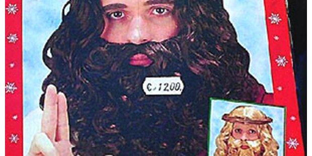 Jesus-Verkleidung in Italien vom Markt genommen