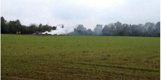 Schweizer Kampfjet in Frankreich abgestürzt