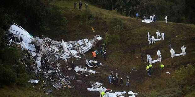 Chapecoense-Drama: Darum stürzte die Maschine ab
