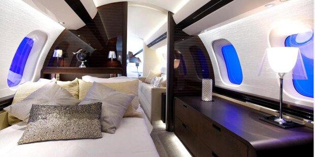 Dieser Privat-Jet kostet über 60 Millionen Euro