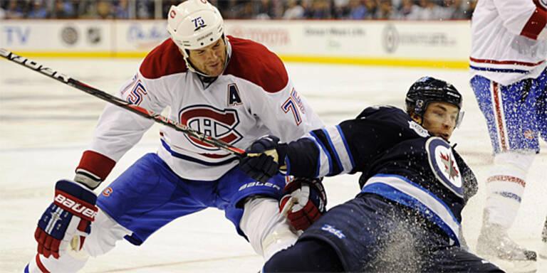 Winnipeg-Pleite bei Heim-Comeback