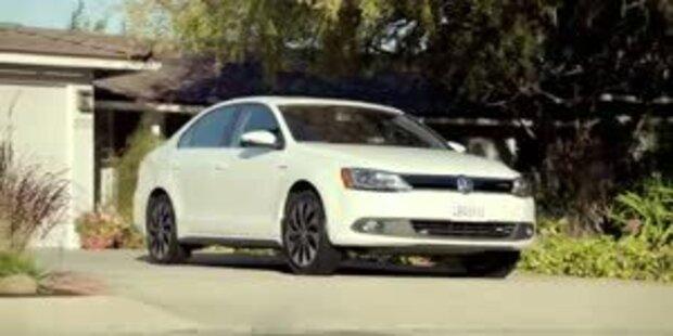 VW stellt Jetta Hybrid und den E-Bugster vor