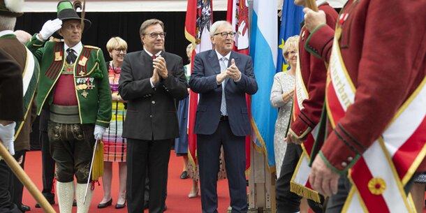 Juncker in Richtung FPÖ: 'Eure Kritik ist mir scheißegal'