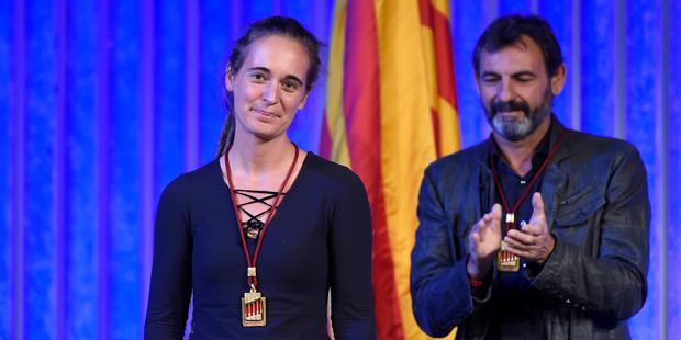 Ehrenmedaille für Seenotretterin Carola Rackete