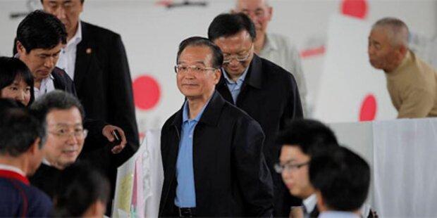 Staats- und Regierungschefs in Fukushima