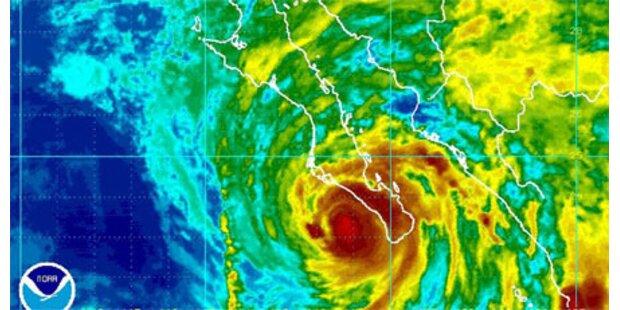 Jimena erreicht abgeschwächt Mexiko