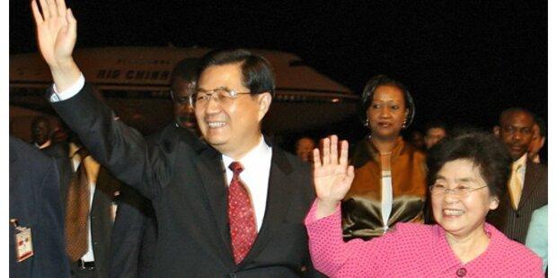 Chinas Staatspräsident besucht Kamerun