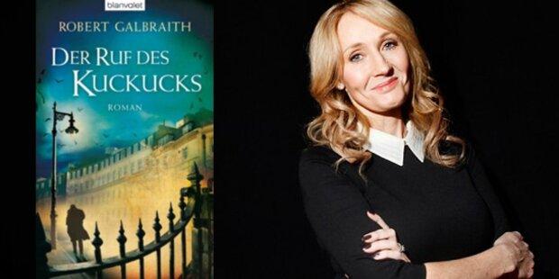 Potter-Autorin schrieb Krimi unter Pseudonym