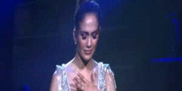 Jennifer Lopez: Tränen auf der Bühne