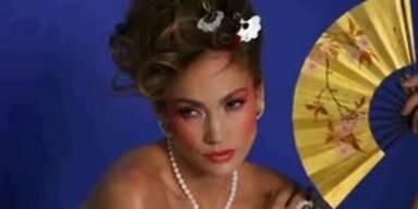 Jennifer Lopez im Geisha-Look für Tous