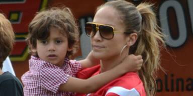 Jennifer Lopez & Sohn Max