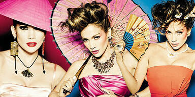 Jennifer Lopez modelt für Tous