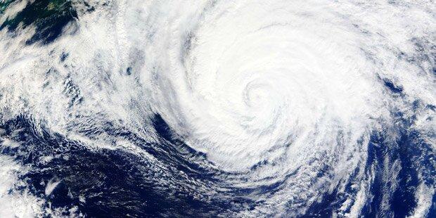 Hurrikan Joaquin: Regen-Walze für Europa?