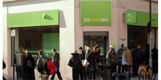 In England sind zwei Millionen Menschen ohne Job