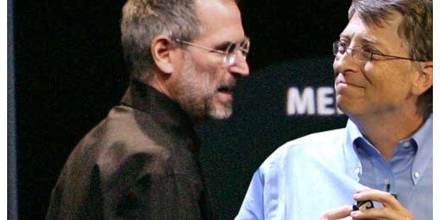 Apple und Microsoft mit neuen Produkten