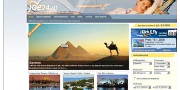 Neues Reisebüro im Internet