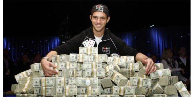 Schulabbrecher gewinnt 8,5 Mio Dollar