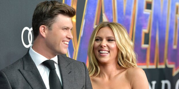 Verlobt! Scarlett Johansson und Colin Jost