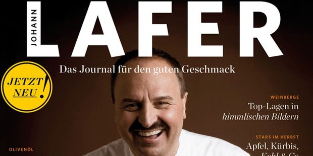 Johann Lafer bekommt eigenes Magazin