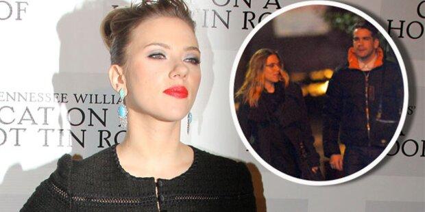 Johansson: Verlobt mit ihrem Franzosen?