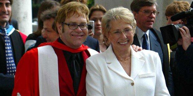 Elton John: Große Trauer um Mutter