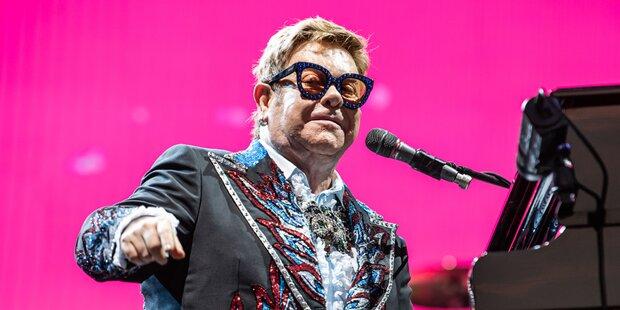 Elton John: So schlimm war seine Drogensucht