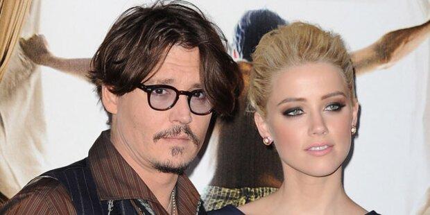 Johnny Depp: Hand in Hand mit Amber Heard