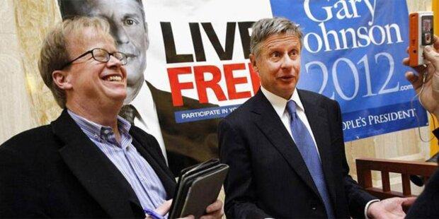 Ex-Gouverneur Johnson tritt gegen Obama an