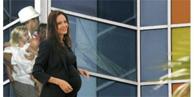 Angelina Jolies Zwillinge sind auf der Welt