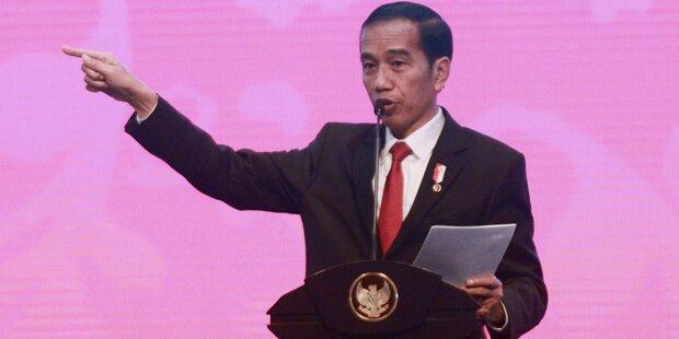 34 Festnahmen bei Protesten gegen Demokratieverfechter in Indonesien