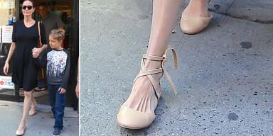 Angelina Jolie Füße