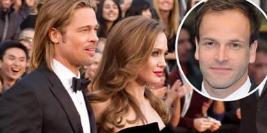 Johnny Lee Miller, Angelina Jolie, Brad Pitt