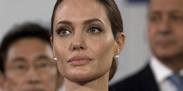 Angelina Jolie schwänzt Beerdigung