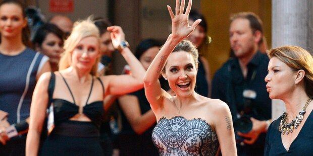 Angelina Jolie kann wieder strahlen