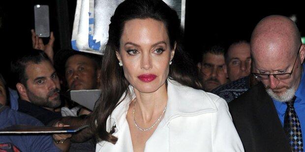 Jolie: Wutrede gegen Sex-Täter