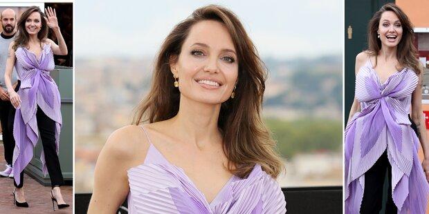 Angelina Jolie: Darum strahlt sie endlich wieder